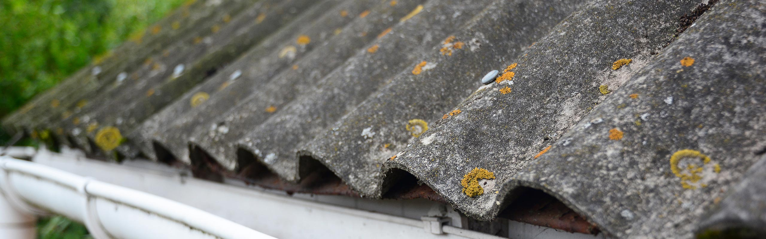 Asbestos Roof Paint Cleaning